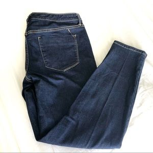 Mossimo Mid-Rise Jeggings Dark Wash 14x32